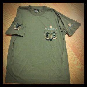 Authentic Victorinox Embellished T-shirt XXL Rare